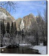 Winter Of Yosemite Acrylic Print