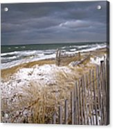 Winter On Cape Cod Acrylic Print