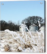 Winter On The Prairie Number 2 Acrylic Print