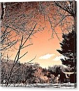 Winter Pastel Acrylic Print