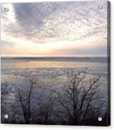 Winter Pastels Acrylic Print