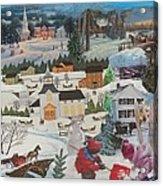 Winter Play - SOLD Acrylic Print
