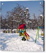 Winter Playground Acrylic Print