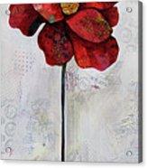 Winter Poppy II Acrylic Print