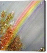 Winter Rainbow  Acrylic Print