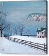 Winter Refuge Acrylic Print