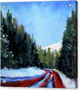 Winter Road Trip Acrylic Print