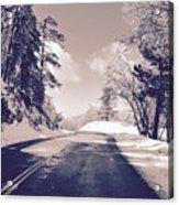 Winter Roads Acrylic Print