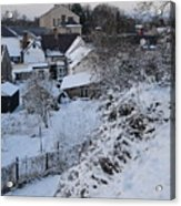 Winter Scene In North Wales Acrylic Print