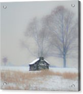 Winter Scene - Valley Forge Acrylic Print