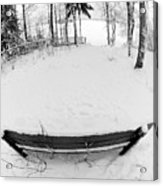 Winter Seat 1 Acrylic Print