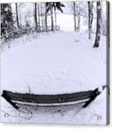 Winter Seat 2 Acrylic Print