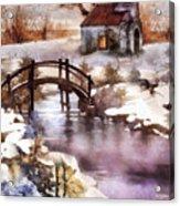 Winter Shelter Acrylic Print
