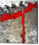Winter Sidewalk 4 Acrylic Print