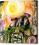 Winter Solstice , Ancient Stones Of Ireland   Acrylic Print