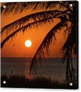 Winter Solstice Sunrise 2 Delray Beach, Florida Acrylic Print