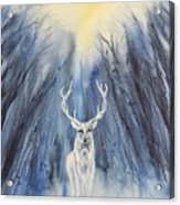 Winter Solstice - Yule Acrylic Print