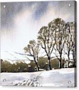 Winter Sowood Acrylic Print