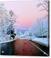 Winter St Acrylic Print