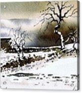 Winter Stainland Acrylic Print