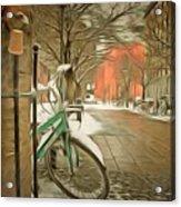 Winter Stockholm  Swiss  Acrylic Print