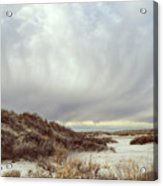 Winter Storm Clouds 2018-2289 Acrylic Print