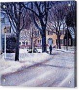 Winter Stroll Acrylic Print