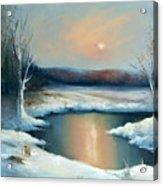 Winter Sun Acrylic Print