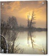 Winter Sunrise Acrylic Print by Graham Clark