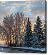 Winter Colors. Acrylic Print