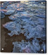 Winter Sunset On Fire Island Acrylic Print