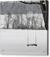Winter Swing Acrylic Print