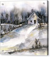 Winter tale Acrylic Print