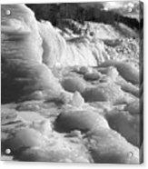 Winter Texture Acrylic Print