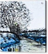 Winter Time Acrylic Print