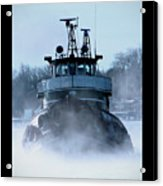 Winter Tug Acrylic Print