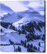 Winter Vista Acrylic Print