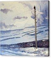 Winter Walkers Acrylic Print