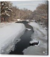 Winter Water Acrylic Print