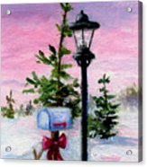 Winter Wonderland Aceo Acrylic Print