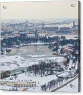 Winter Wonderland In Stockholm Acrylic Print