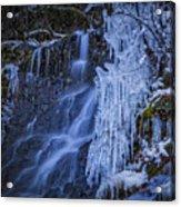 Winterfalls Acrylic Print