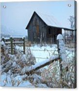 Winters Arrival Acrylic Print
