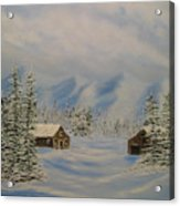 Winters Beauty Acrylic Print