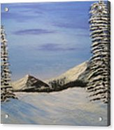 Winters Chill Acrylic Print