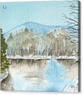 Winter's Daylight Chill  Acrylic Print