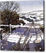 Winters Lane Stainland Acrylic Print