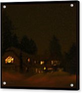 Winter's Night Acrylic Print