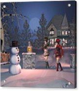 Winters Night Acrylic Print
