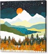 Winters Night Acrylic Print